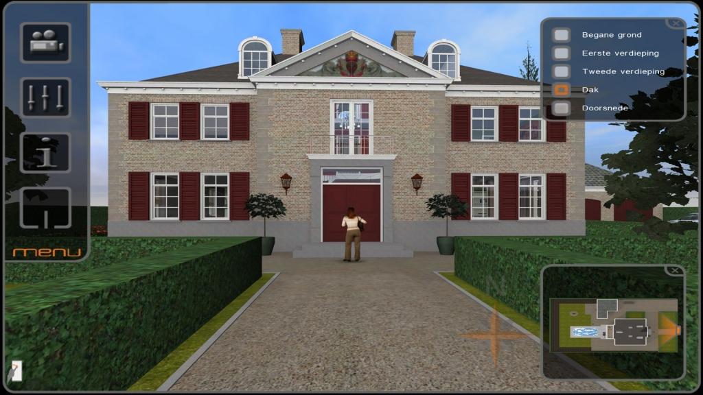 Interactief 3D model van een project van Andermans Villabouw